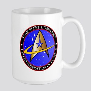 Star Fleet Command Large Mug