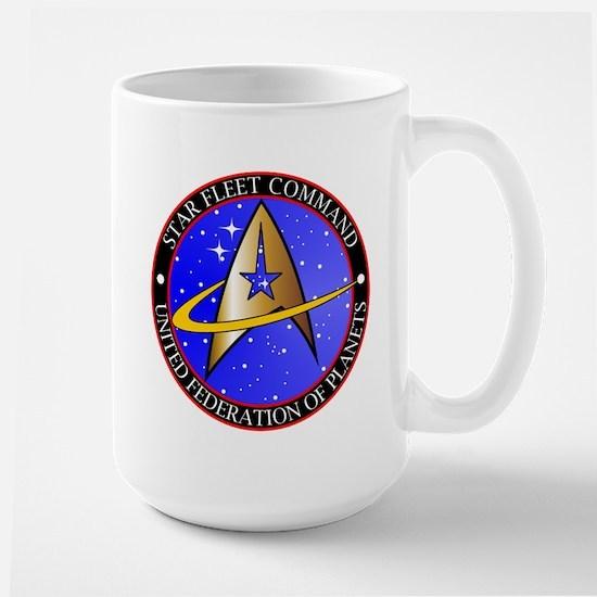 Star Fleet Command Large Mug