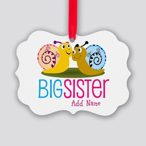 Add Name Big Sister Ornament