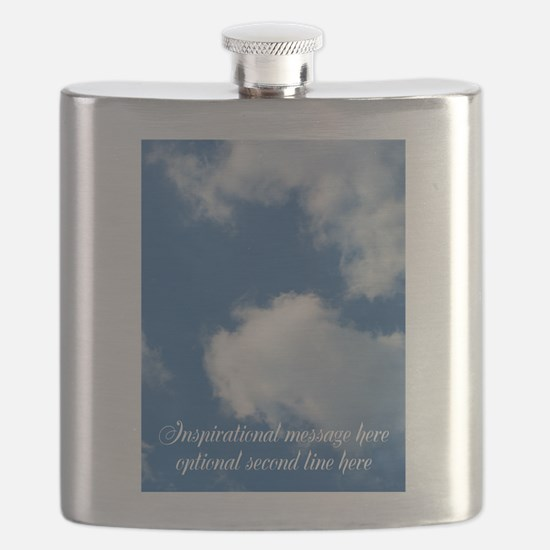 inspirational clouds poster Flask