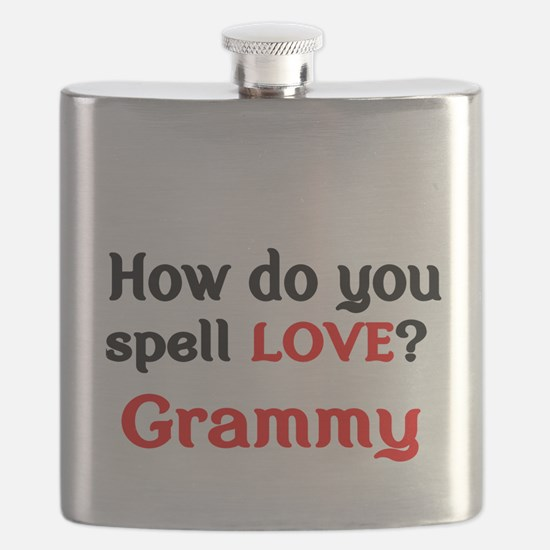 How do you spell Love Grammy Flask