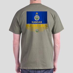 Kansas (v15) Dark T-Shirt