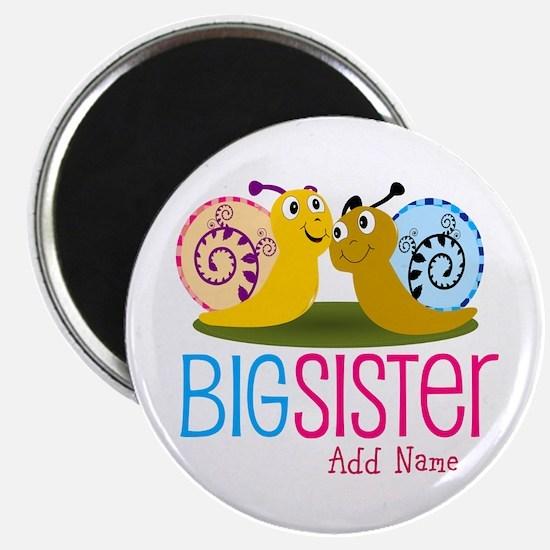 "Add Name Big Sister 2.25"" Magnet (100 pack)"