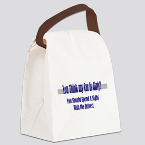 spend a night Canvas Lunch Bag