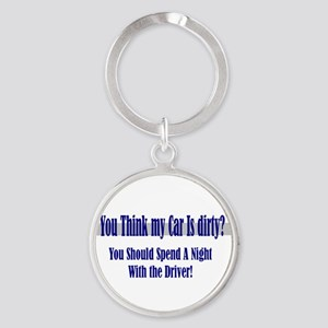 spend a night Keychains