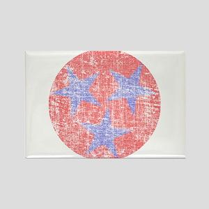 Blue Star Flag Rectangle Magnet