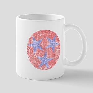Blue Star Flag Mug