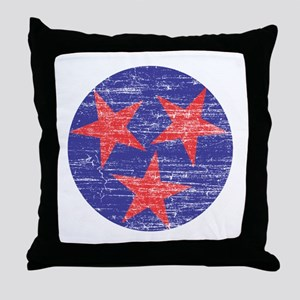 Tennessee America Throw Pillow
