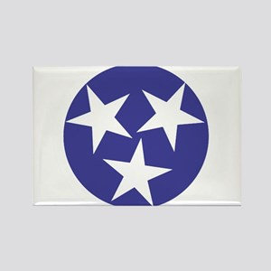 Tennessee Stars Rectangle Magnet