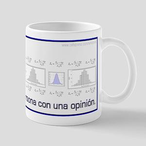 Without Data Spanish Mug