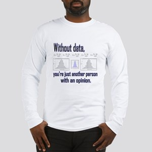 Without Data Long Sleeve T-Shirt