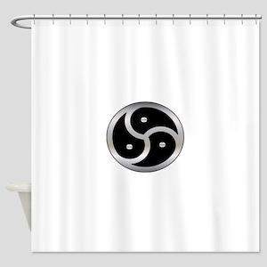 BDSM symbol Femdom Shower Curtain