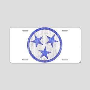Aged Tennessee Aluminum License Plate