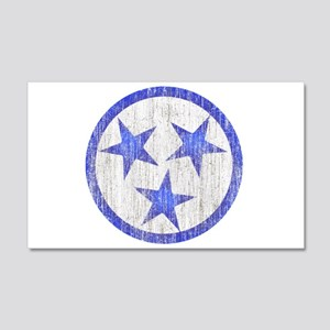 Aged Tennessee 20x12 Wall Decal