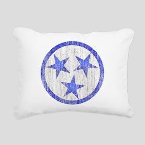 Aged Tennessee Rectangular Canvas Pillow