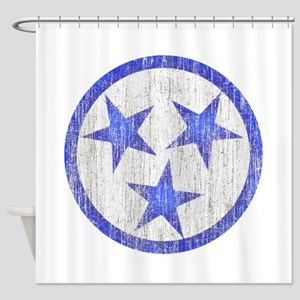 Aged Tennessee Shower Curtain