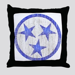 Aged Tennessee Throw Pillow