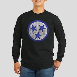 Aged Tennessee Long Sleeve Dark T-Shirt
