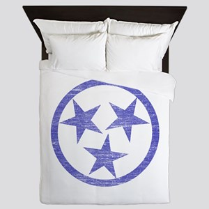 Faded Tennessee Blues Queen Duvet