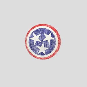 Faded Tennessee Flag Mini Button