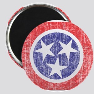 Faded Tennessee Flag Magnet