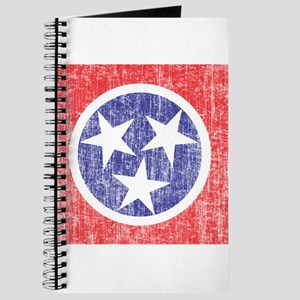 Faded Tennessee Flag Journal
