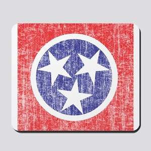 Faded Tennessee Flag Mousepad
