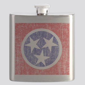 Faded Tennessee Flag Flask