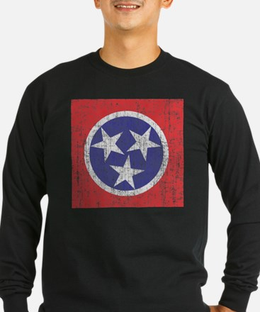 Faded Tennessee Flag T