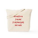 Femdom fetish Tote Bag