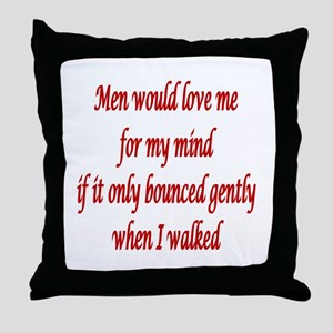Femdom fetish Throw Pillow