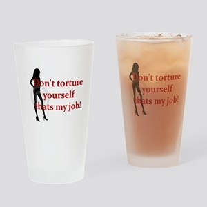 Femdom dont toture ... Drinking Glass