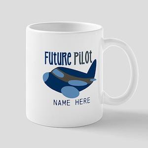Add Name Future Pilot Mug
