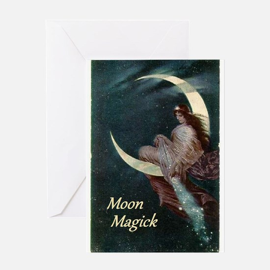 Fairy of the Moon Greeting Card