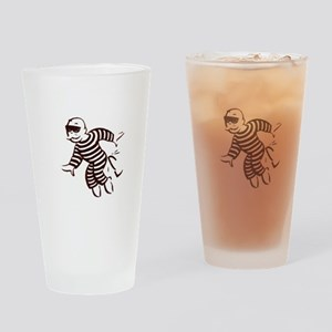 get out of jail now Drinking Glass