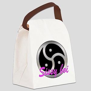 Femdom sissy boi. Canvas Lunch Bag