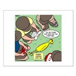 Rubber Chicken First Aid Small Poster
