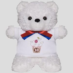 10th Birthday Cupcake Teddy Bear