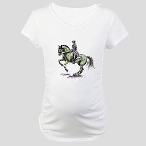 Dressage Maternity T-Shirt