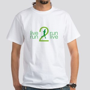 Live 2 Run, Run 2 Live Green T-Shirt