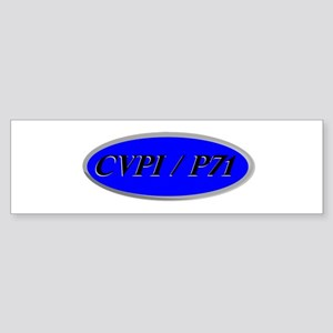CVPI / P71 Sticker (Bumper)