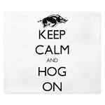 Hog On King Duvet