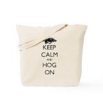 Hog On Tote Bag