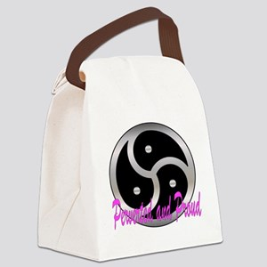Femdom perverted an... Canvas Lunch Bag