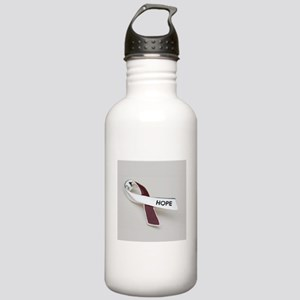 Oral Head and Neck cancer awareness Water Bottle