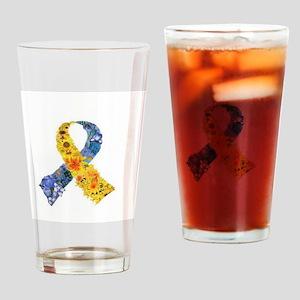 awareness (read description) Drinking Glass