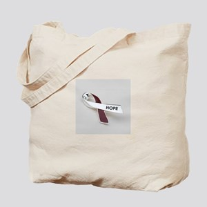 Oral Head and Neck cancer awareness Tote Bag