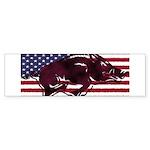 Ameri-hog Bumper Sticker