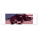 Ameri-hog Bumper Sticker