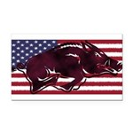 Ameri-hog Rectangle Car Magnet